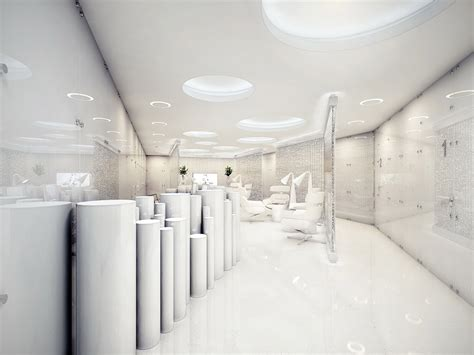 Clinic Interior Design by The World S Most Stylish Surgery Clinic Visualized
