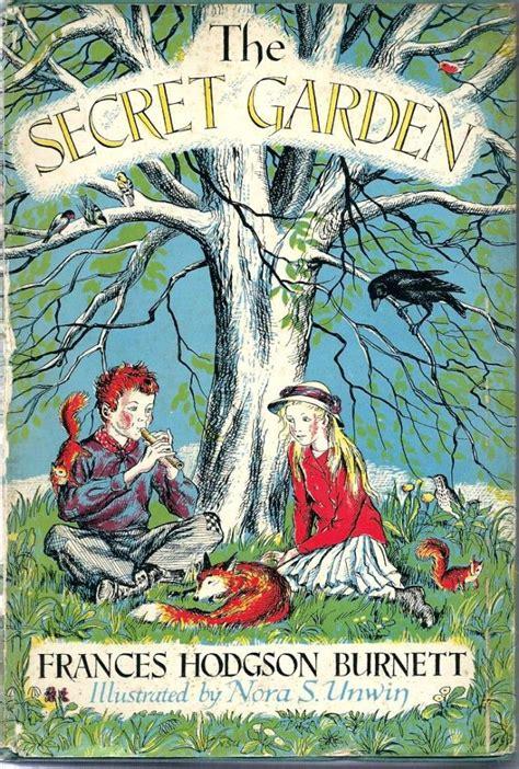 secret garden   vintage copy illustrated