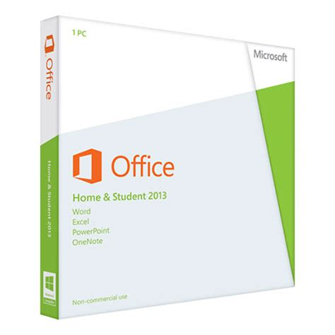 microsoft office 2013 home student 2013 1 pc