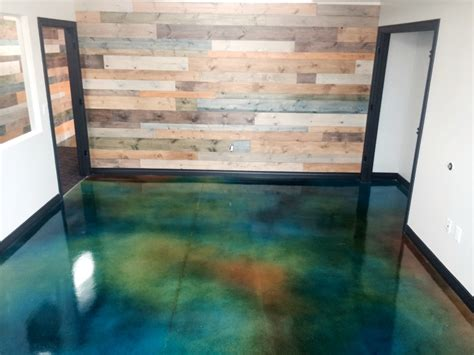 Mobile Home Interior Ideas by Quality Pro Basement Acetone Stain