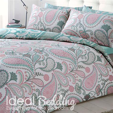 pastel bedding paisley pastel pink duvet quilt bedding cover and pillowcase bedding set duvet sets complete
