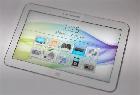 home theater remote touchscreen graphics by