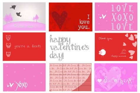 blank valentines card template 7 best images of own s day cards printable