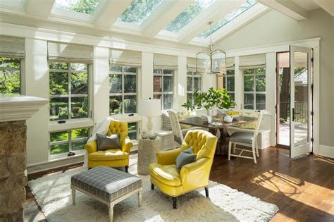 bywood residence transitional sunroom minneapolis by martha o hara interiors