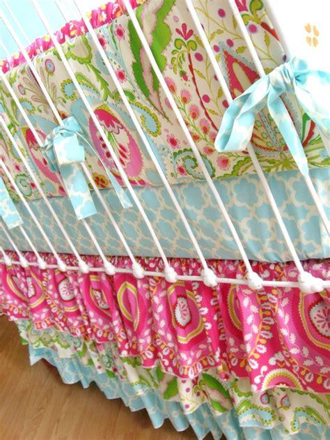 Kumari Garden Fabric by Kumari Garden Crib Set For Peyton