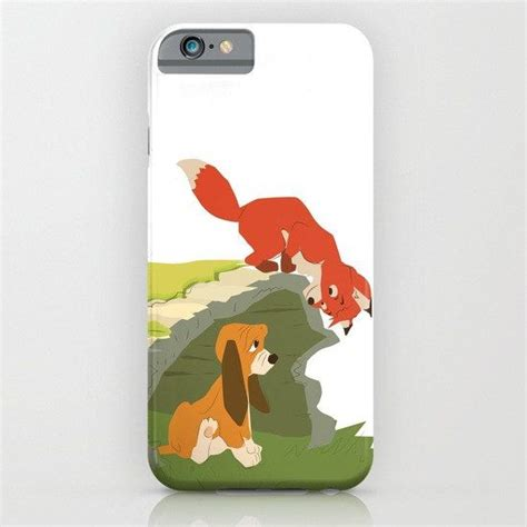 Silikon 3d Doggie Iphonesamsungoppo fox and the hound tod and copper friendship phone iphone galaxy by studiomarshallgifts