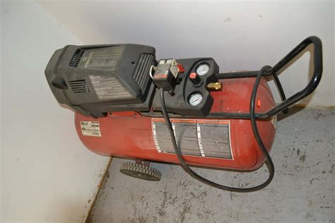 sears craftsman  hp  gallon air compressor coast