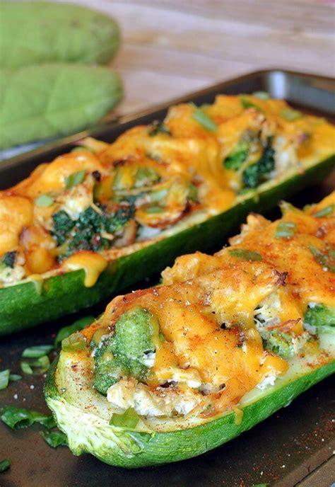stuffed zucchini boats with cream cheese best 25 stuffed zucchini recipes ideas on pinterest