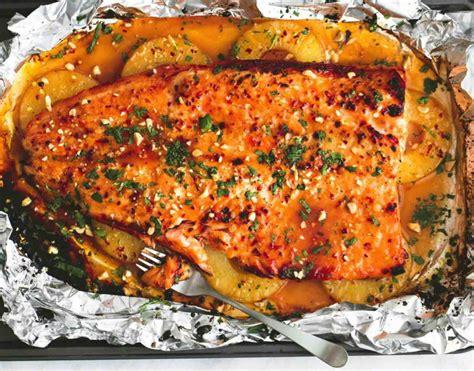 recetas cocina pescado receta facil de pescado empapelado con salsa de pi 241 a y