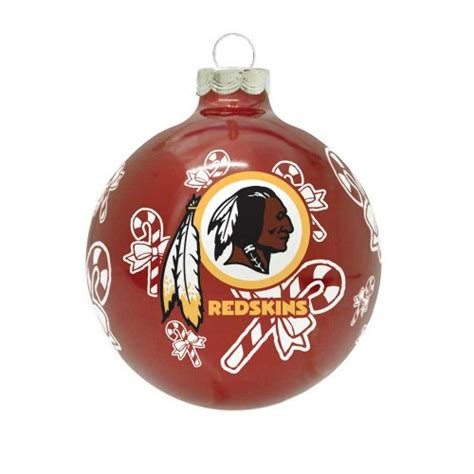 washington redskins christmas tree ornaments