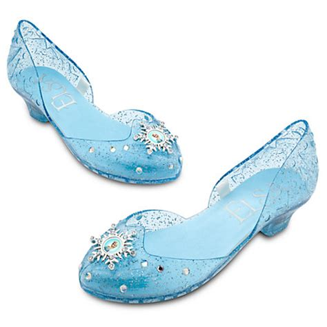 disney store frozen elsa light up shoes disney store frozen elsa light up costume shoes size 7 8 9