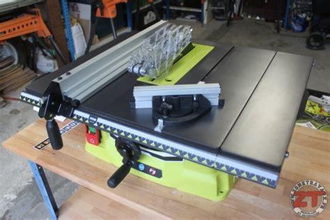 test ryobi scie sur table pliable 1800w rts1800ef g