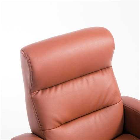childrens faux leather armchair qaba adjustable deluxe kids faux leather sofa recliner