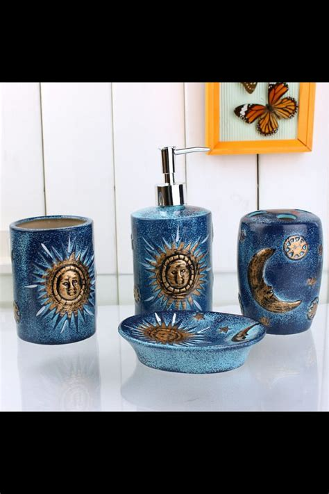Celestial Bathroom Accessories Celestial Bathroom Decor Bathroom Design Ideas