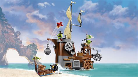 barco pirata lego ninjago 75825 piggy pirate ship products lego 174 the angry birds