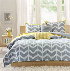 blue grey and yellow bedding home design ideas