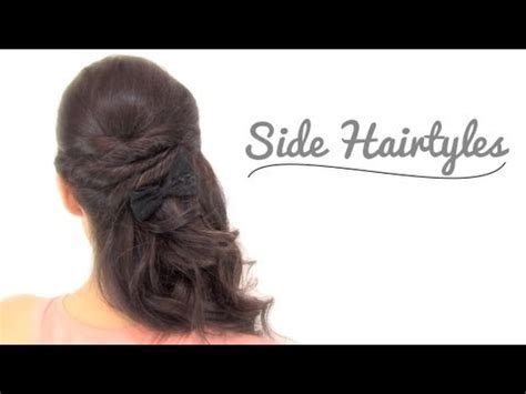 hairstyles party jordan 2 side up hairstyles quot for any party occasion quot youtube