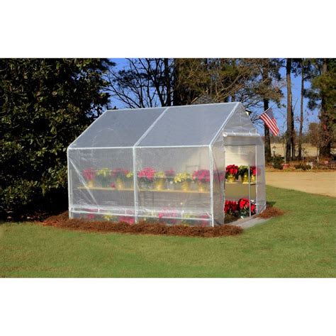 King Canopy 10' x 10' Greenhouse Canopy in White   GH1010