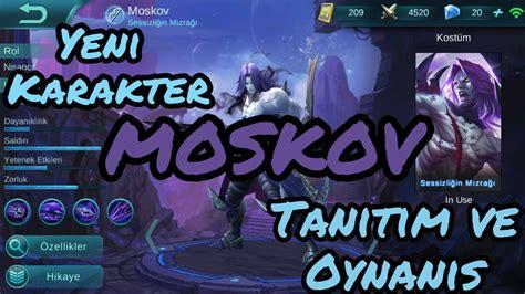 moscow mobile legend mobil legends yeni karakter moscow ıtım ve oynanış