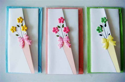 Ideas For Handmade Cards - trending handmade greeting card designs