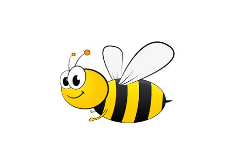 bee clipart onlinelabels clip bee