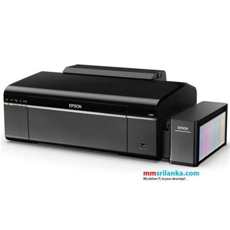 Ink Jet Epson L805 Print Wifi epson l805 photo printer