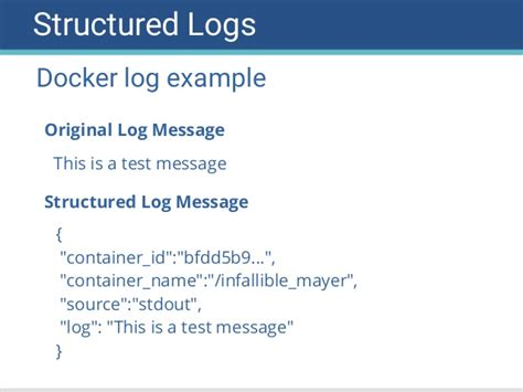 docker distribution tutorial logging for containers