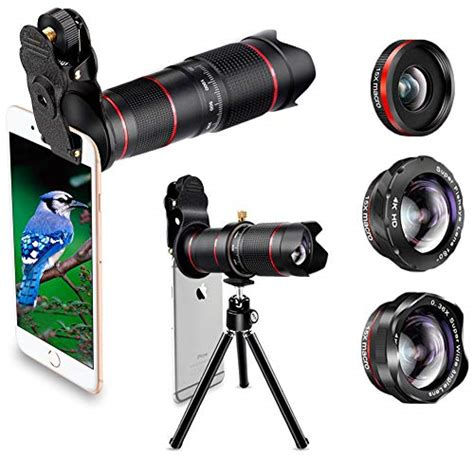 phone lens best keiyi 15x iphone telephoto lens kit regulation lens