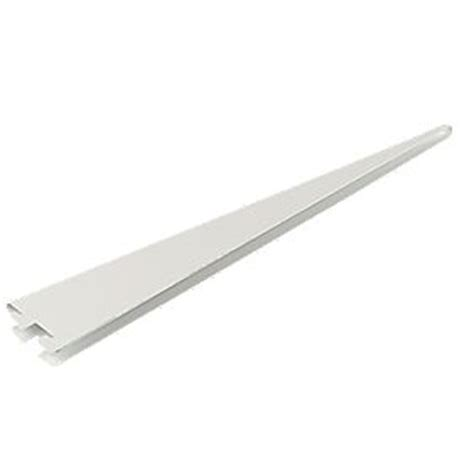 Floating Shelf Brackets Screwfix by Rb Uk U Brackets White 370 X 13mm 10 Pack Floating