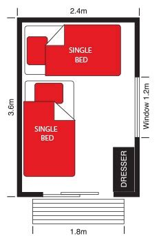 sleep out floor plans sleepouts or extra bedroom short or long term hire