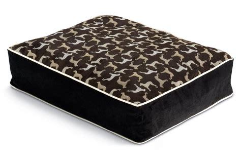 crypton dog bed crypton dog bed large rotator midnight black at gardner white
