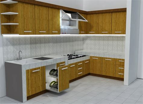 40 desain kitchen set minimalis dan harga terbaru