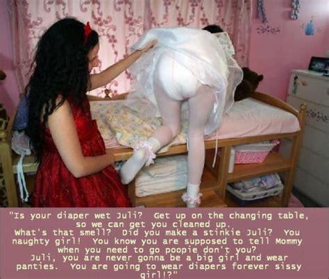 forced to wear dress petticoat diaper braids petticoat punishment diaper girls pinterest cap tg