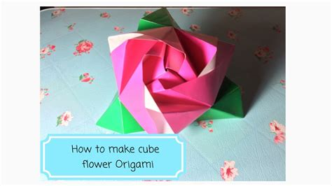 How To Make Origami Magic - how to make an magic origami cube diy fold origami