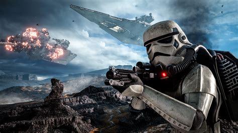 wallpaper destroyer game stormtrooper star wars battlefront star destroyer