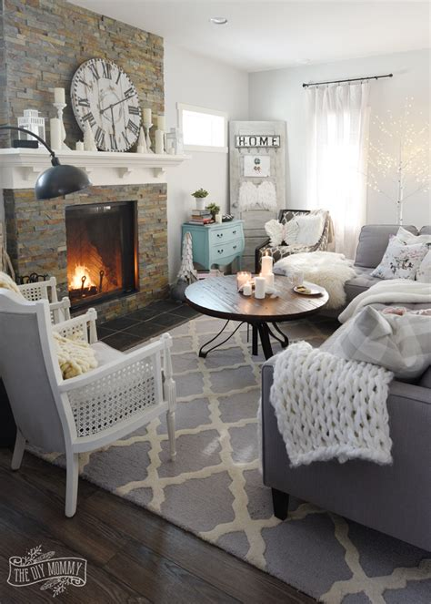 How to Create a Cozy, Hygge Living Room this Winter   The DIY Mommy