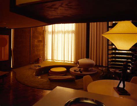 60s wohnzimmer retro 60s bachelor pad conversation pit