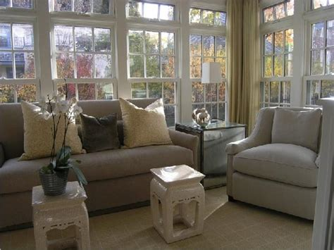 chinoiserie stools transitional living room