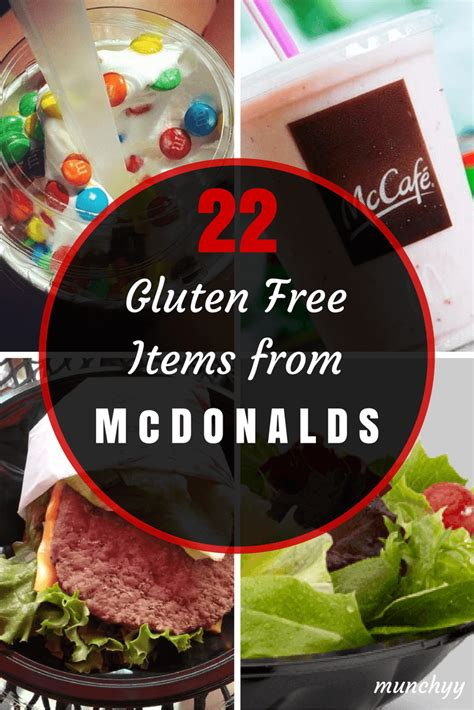 22 Gluten Free Items You Must Try at McDonalds   Munchyy