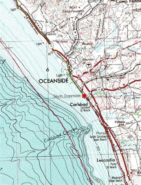 map of oceanside oregon san mateo to oceanside