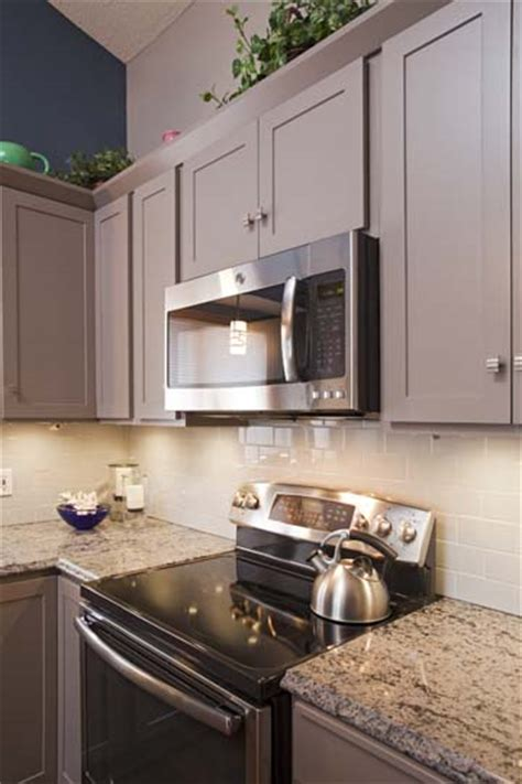 greige kitchen cabinets project feature greige painted cabinets apple valley