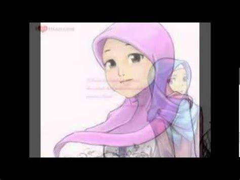 cara menggambar anime wanita cantik gambar muslimah buzzpls