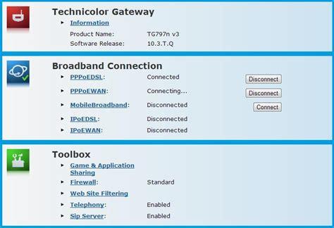 Solved T Gateway Dropouts Technicolor Tg797nv3