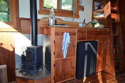 tiny house wood stove off grid heat small wood stoves livin lightly