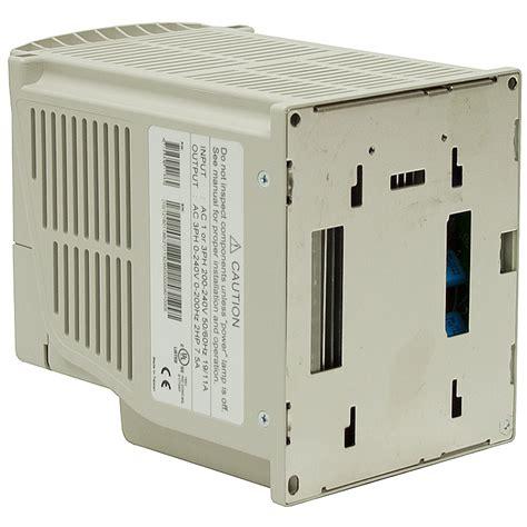 Ac Teco 3 hp teco vfd 230 volt ac 1ph 3ph input 3ph output teco