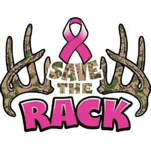 Save A Rack by Save The Rack Camo Antlers Breast Cancer Awareness T Shirt