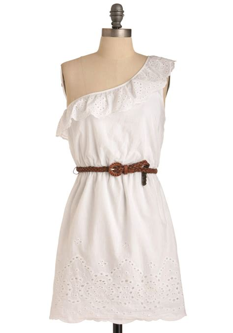 Country Dress country singer showcase dress casual white solid