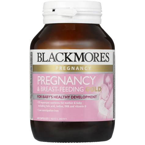 Blackmores Pregnancy Breast Feeding Gold 180 Caps Ori Oz blackmores pregnancy gold capsules 60pk woolworths