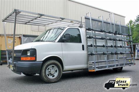 Glass Racks For Vans by Gallery Glass Truck