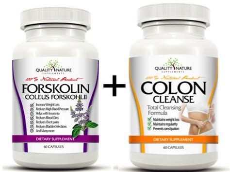 Colon Detox Colon Cleanse Weight Loss by Forskolin Coleus Forskohlii Colon Cleanse Detox For